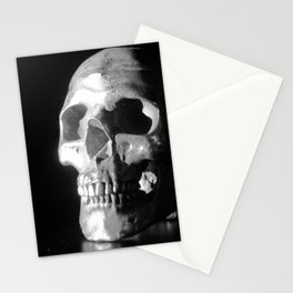 Skull Reflections Stationery Cards
