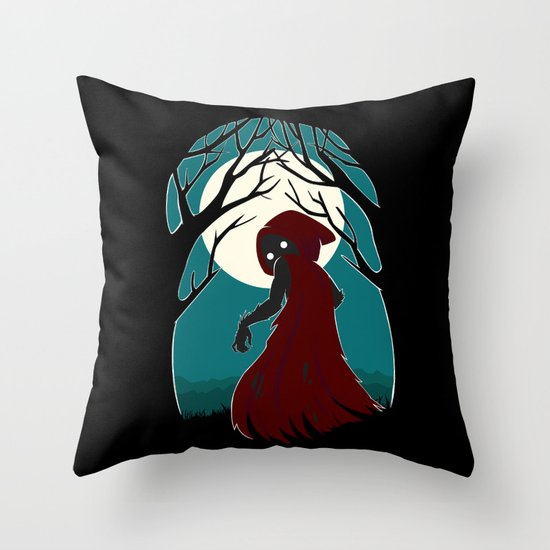 Red Riding Hood 2 Throw Pillow