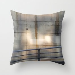 SquareStones Throw Pillow