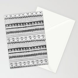 Dark aztec Stationery Cards