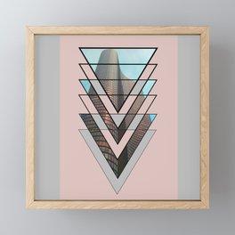 Compression Framed Mini Art Print