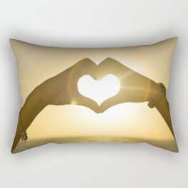 Love the Beach Rectangular Pillow