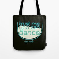 vodka Tote Bags featuring Says Vodka by Daniac Design