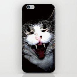 Vampire Kitty iPhone Skin