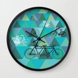 Tour de'Triangle Wall Clock
