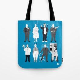 Alfred's Favorite Cameos Tote Bag