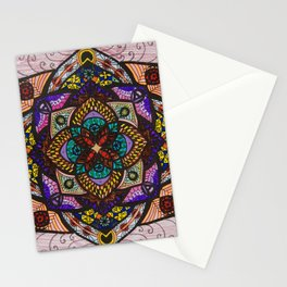 Love Mandala - מנדלה אהבה Stationery Cards