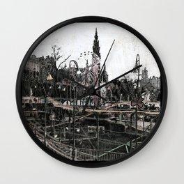 Hogmanay Fair Wall Clock