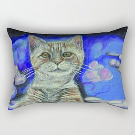 Angel Kitty Rectangular Pillow
