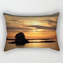 Island Sunset Rectangular Pillow