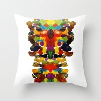 totem Throw Pillows featuring totem! by gasponce