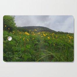 Alpine Buttercups Cutting Board