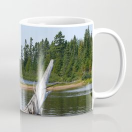Peacefull Lake in Canada Coffee Mug