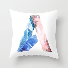 A for Effort Throw Pillow