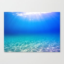One Deep Breath Canvas Print