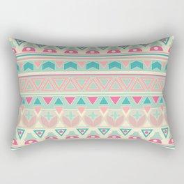 Ethnic , ornament , tribal , pastel Rectangular Pillow