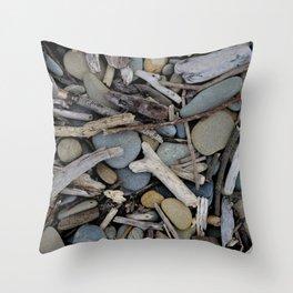 Drift Wood Throw Pillow