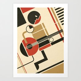 Bauhausmusic - Part III Art Print