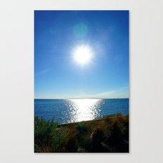 Solitaire Sky Canvas Print