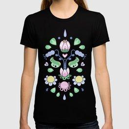 Cartoon Kurbits - Flower Tapestry T-shirt