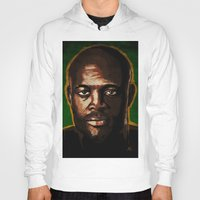 """wes anderson Hoodies featuring Anderson """"The Spider"""" Silva by Joe Borelli"""