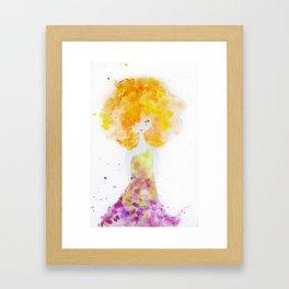 SunnyGirl Framed Art Print
