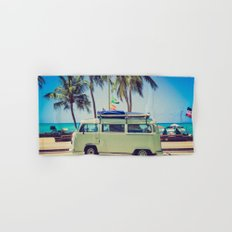 VW Bus Beach Vacation Hand & Bath Towel
