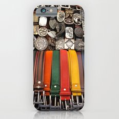 Italian leather belts, Florence market iPhone 6s Slim Case