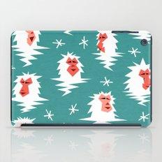 Bathing Japanese snow monkeys iPad Case