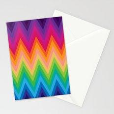 Zig Zag Chevron Pattern G291 Stationery Cards