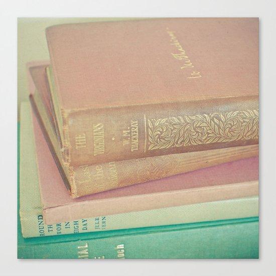 Book Lover Canvas Print