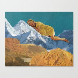 Cozying Up Canvas Print