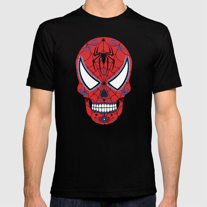 Spidey Sugar Skull T-shirt