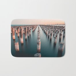 Melbourne, Australia #society6 #decor #buyart Bath Mat