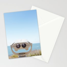 Travel photography Palos Verdes Ocean IV The view ahead Stationery Cards