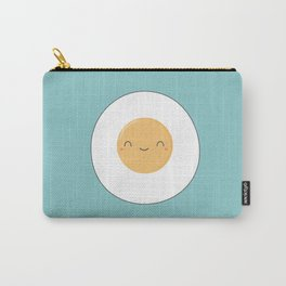Kawaii Cute Fried Eggs Breakfast Carry-All Pouch