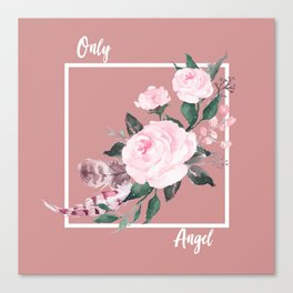 Only Angel Canvas Print