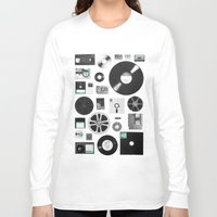 data Long Sleeve T-shirts featuring Data by Florent Bodart / Speakerine