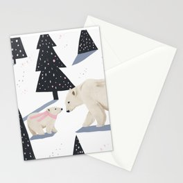 Polar Bear Christmas Stationery Cards