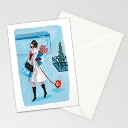 Snow in the City Stationery Cards