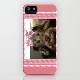 Smile, puppy, smile iPhone Case