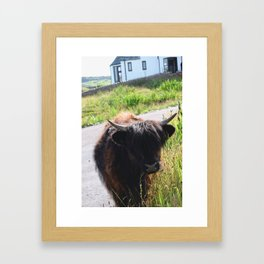 Haircuts Are For Losers Framed Art Print