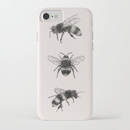 Three Bees iPhone Case