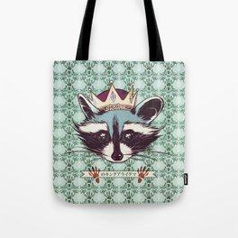 King Racoon · Ver.2 Tote Bag