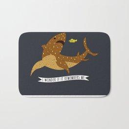 I wonder if it remembers me - The Life Aquatic Bath Mat