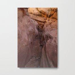 Little_Wild_Horse Canyon 0002 - Utah Metal Print