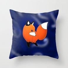 Introducing a fox Throw Pillow