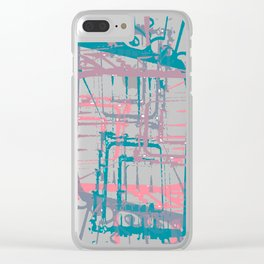 Take the stairs! Clear iPhone Case