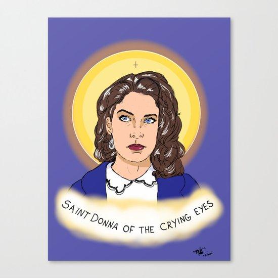 St. Donna Canvas Print