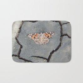 Butterfly on Crack Bath Mat